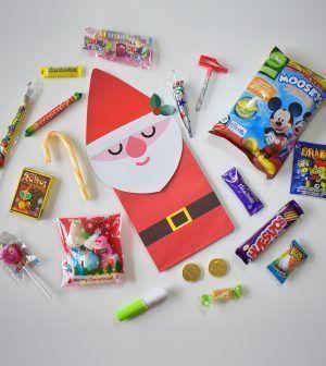 Bolsa de golosinas - Papá Noel