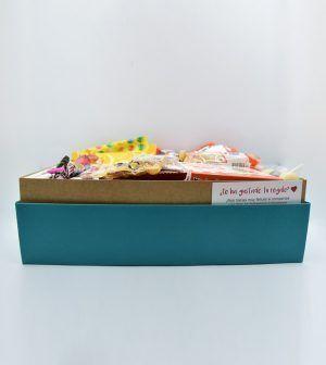 Caja de chocolates grande verde