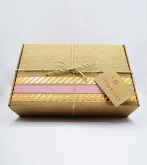 Caja Kraft de golosinas - rosa