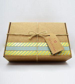 Caja Kraft de golosinas - verde