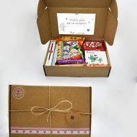 Caja Kraft de chocolate - Te quiero Mamá